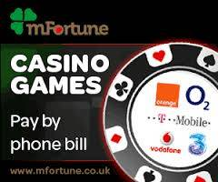 Payforit mobile casino at m-fortune Bingo for Mobile