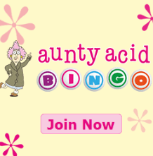 aunty acid bingo Bingo for Mobile