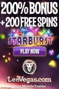 Leo Vegas Free No Deposit HD Mobile Casino Slots
