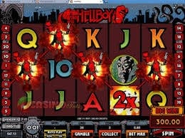HELLBOY slots at dazzle casino