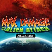 Max Damage and the Alien Attack Slots at dazzle casino