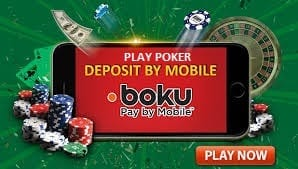 poker pay by mobile deposit