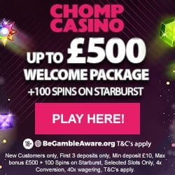 chomp casino new 2019